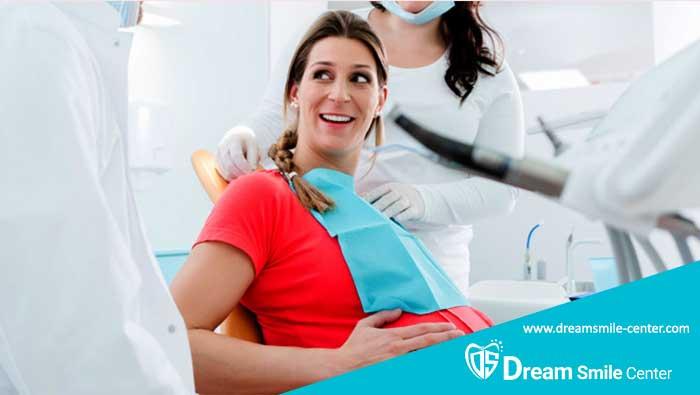 مراجعه به دندانپزشکی در دوران بارداری