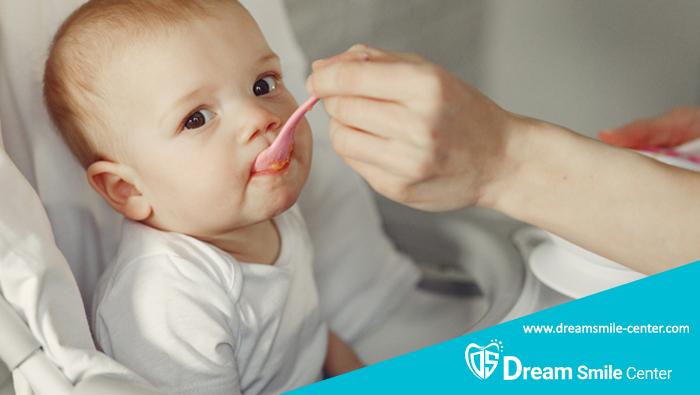 غذای مقوی برای دندان درآوردن کودک